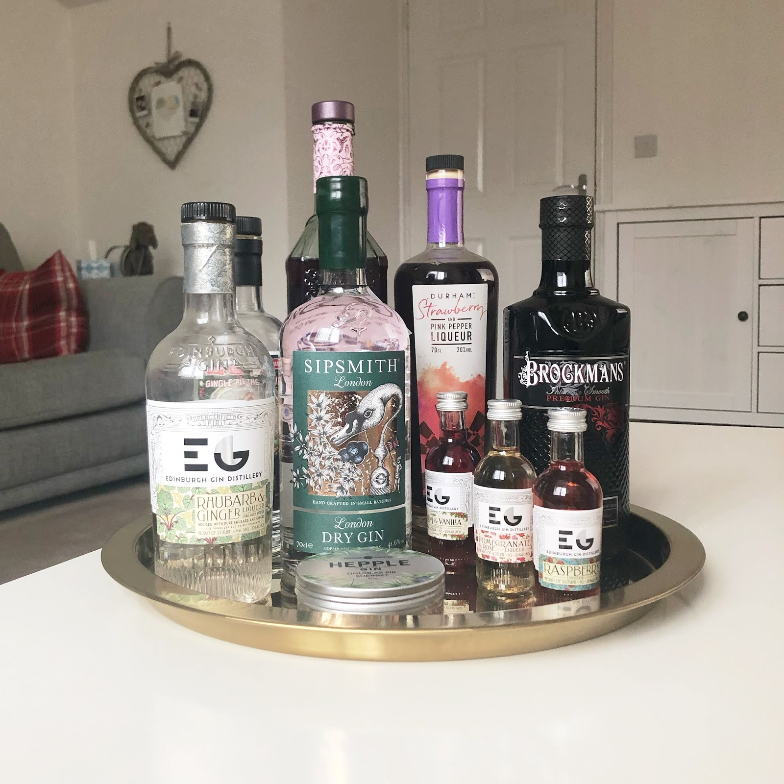 My January Days - Gin Tray