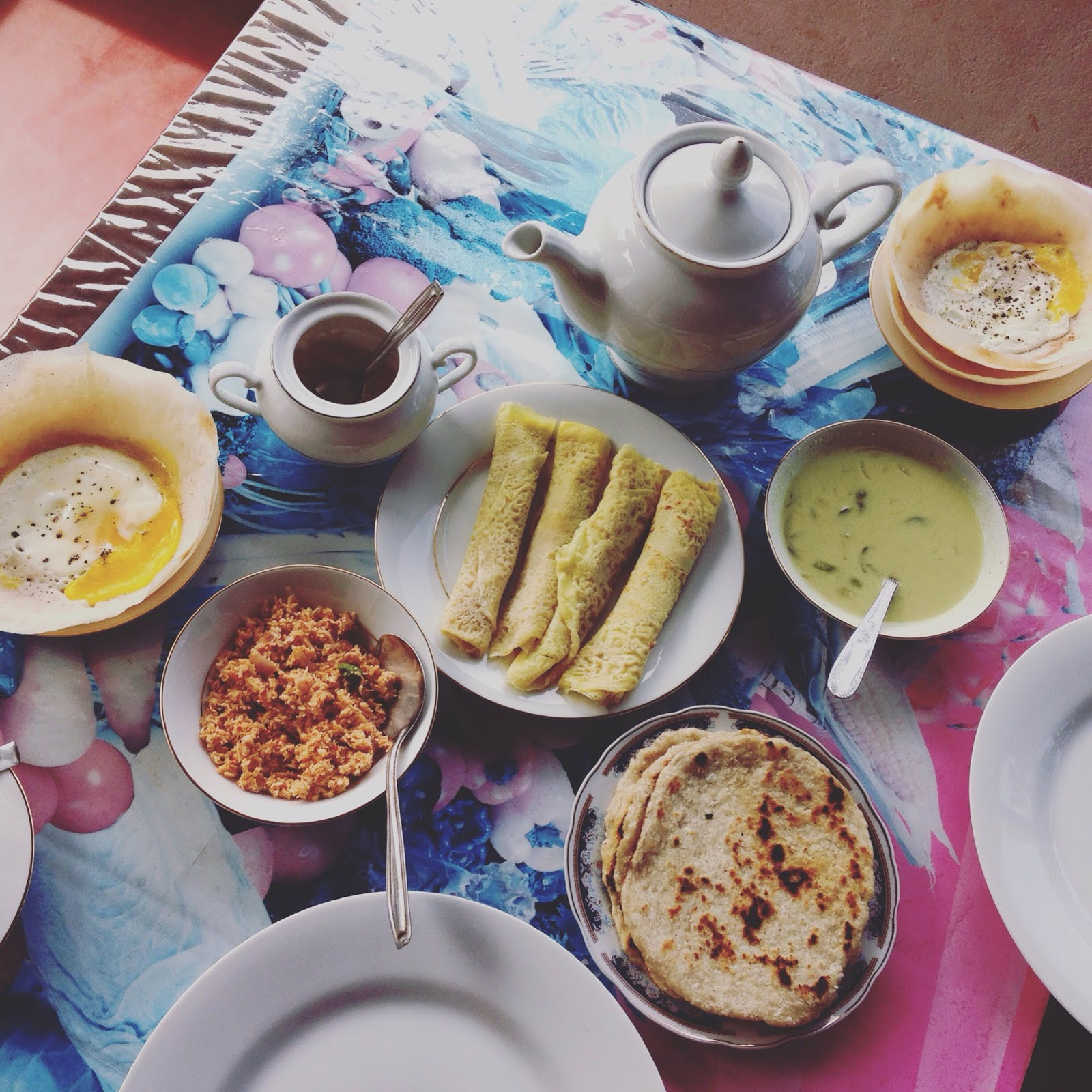 Breakfast in Sri Lanka