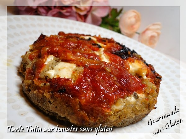 gourmande sans gluten tarte tatin aux tomates sans gluten. Black Bedroom Furniture Sets. Home Design Ideas