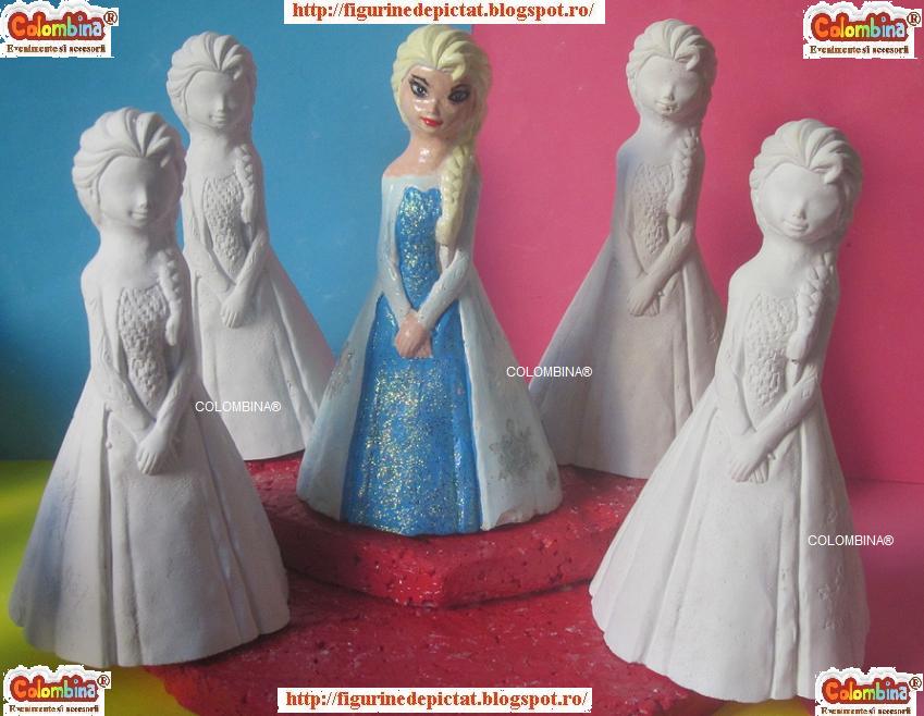 Figurine De Pictat Printesa Elsa De Pictat
