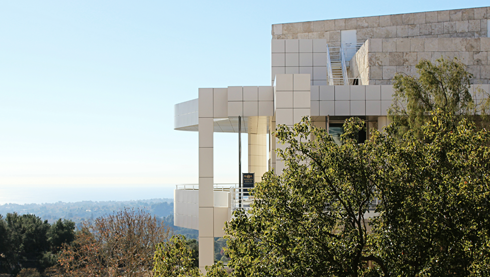 Getty Center Art Museum LA Los Angeles