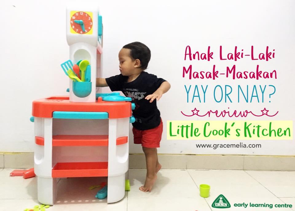Toy Review  4  ELC Little Cooks Kitchen ― Anak Laki-Laki Main Masak ... 7f0d4dda20