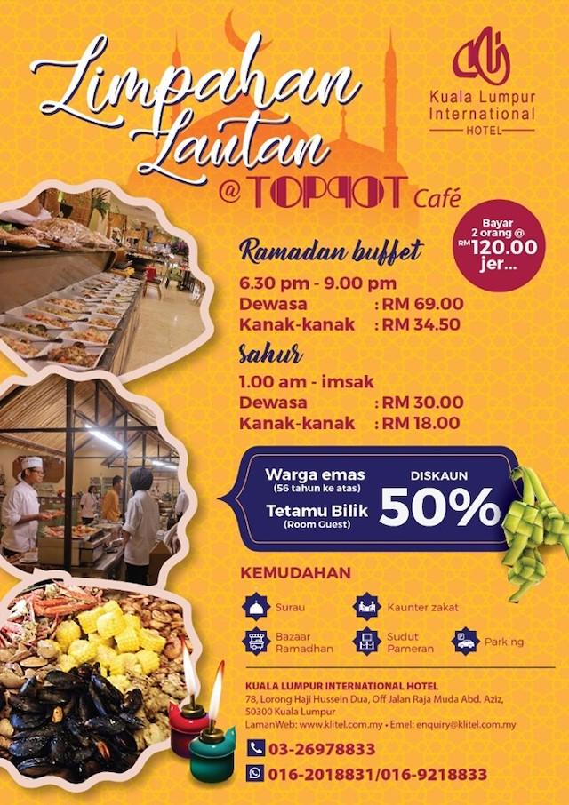 'Limpahan Lautan' Ramadan Buffet Brochure