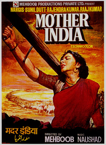 Mother India 1957 Hindi 480p DVDRip 500mb