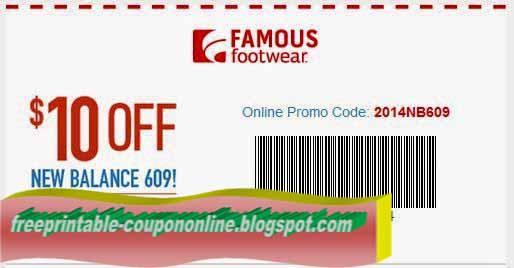 Printable famous footwear coupon april 2018