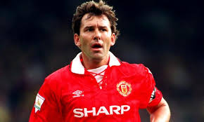 Football Legends wore the No.7 at Manchester United - Brian Robson