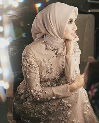 Model Kebaya Muslim Bordir