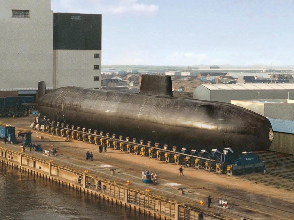 Kapal selam Nuklir UK -Astute Class