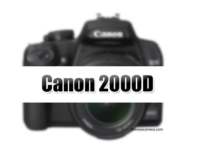 Картинка для заметки с изображением надписи Canon 2000D