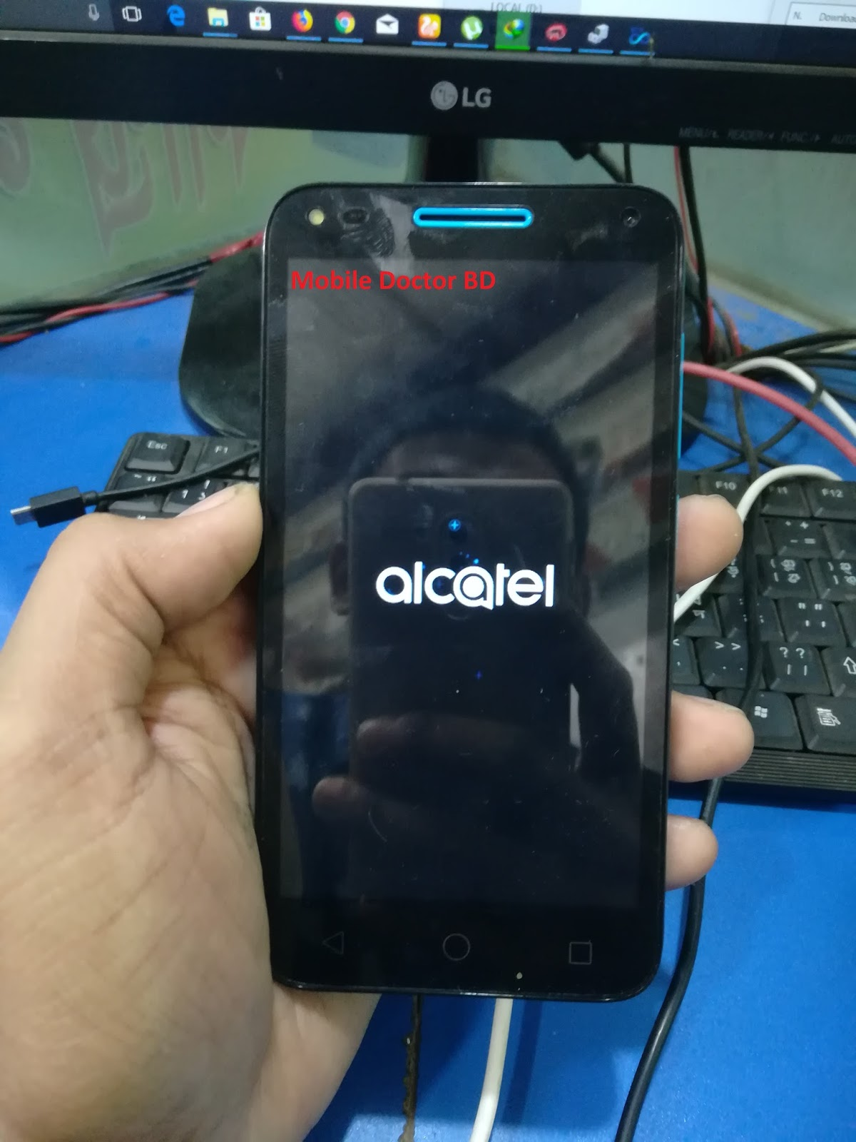 Alcatel / TCL 4047D U5 MT6580 Firmware Update Not Without Password