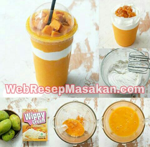 Jus Mangga Thailand, Resep Jus Mangga Thailand, King mango thailand,