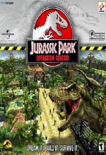 Jurassic Park: Operation Genesis Cover Art