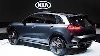 Kia presenta due crossover ibridi Niro EV Concept