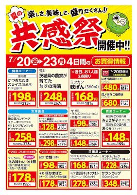 【PR】フードスクエア/越谷ツインシティ店のチラシ夏の共感祭開催中!!