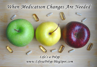 medication changes life's a polyp