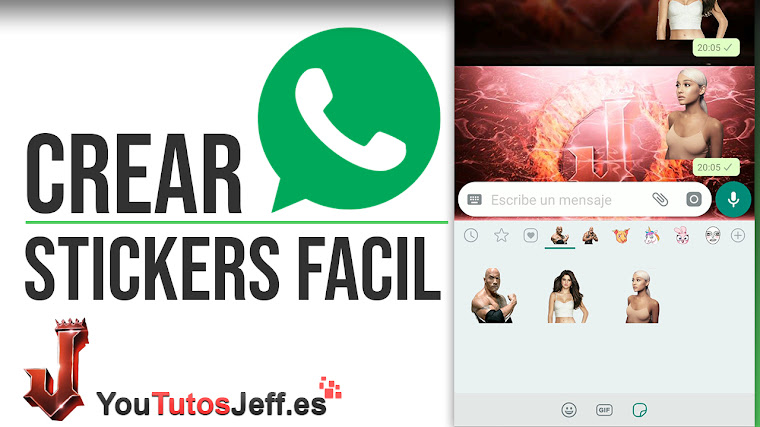 Como Crear Stickers para Whatsapp de Forma Simple - Trucos Whatsapp