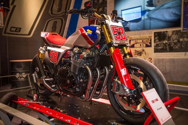 Honda CB1100 TR Konsep Ikut Nongol di EICMA 2016