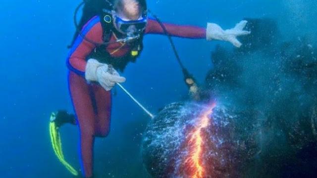 Subhanallah, Api di Bawah Lautan Menjadi Bukti Kebenaran Al Quran dan Hadits