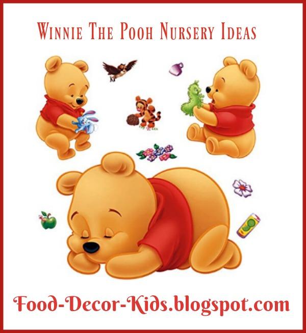 Food decor kids winnie the pooh nursery ideas for Winnie the pooh bedroom designs