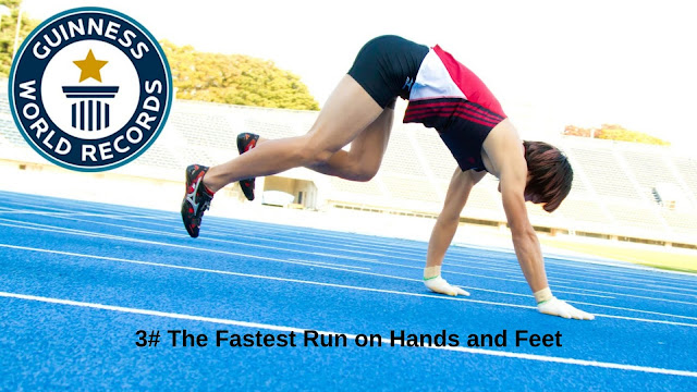 The Fastest Run on Hands and Feet