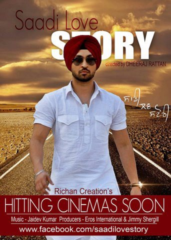 A New Poster Of Upcoming Punjabi Movie Saadi Love Story
