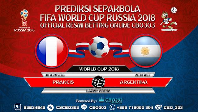 Prediksi Bola Piala Dunia 2018 Prancis VS Argentina 30 Juni 2018