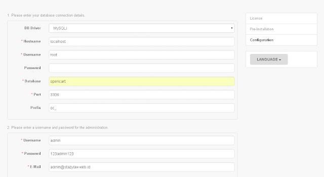 Membuat Web e-Commerce Menggunakan CMS OpenCart