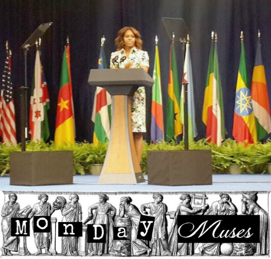 MONDAY MUSES: Education + Mrs Obama