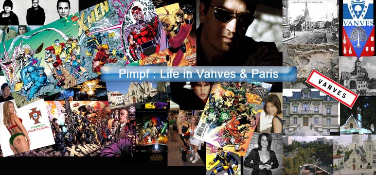 Pimpf : life in Vanves & Paris