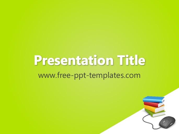Online learning ppt template toneelgroepblik Choice Image
