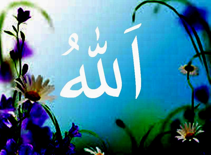 Kaligrafi Allah Berwarna Kaligrafi Islam