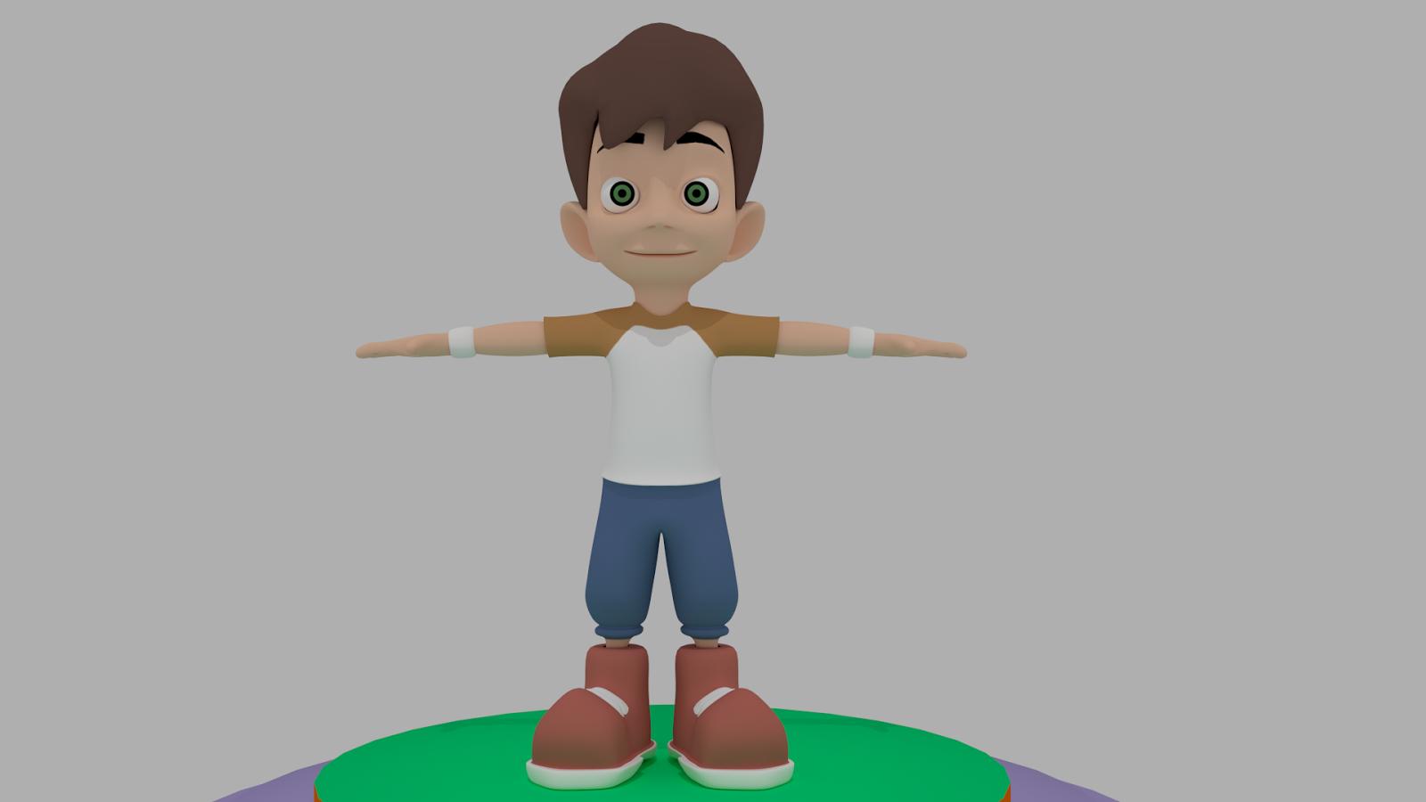 Modeling Characters W Blender D