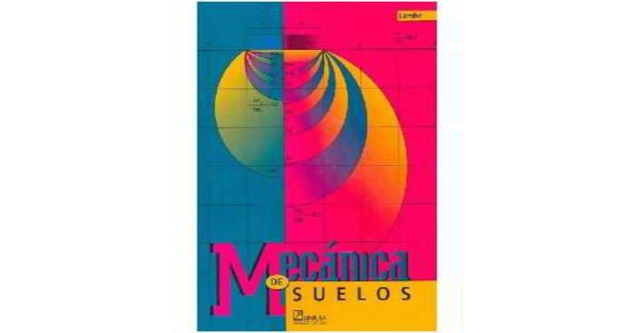 Descargar libro Mecánica de Suelos - Lambe y Whitman