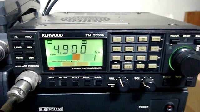 Kenwood TM-3530A Amateur VHF Transceiver