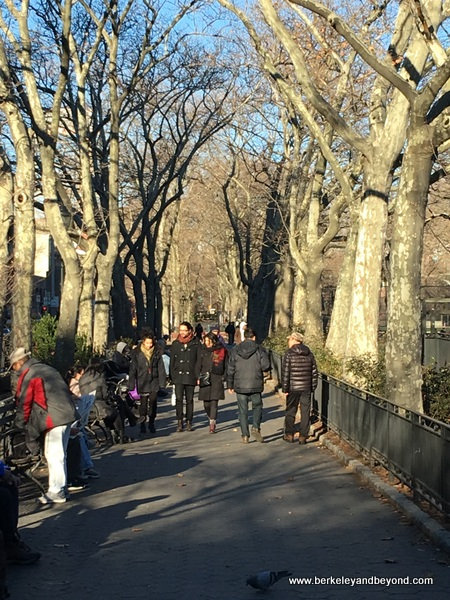 promenade at Sara D. Roosevelt Park in NYC