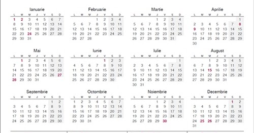 calendar 2018 romanesc printabil pdf calendar 2018 romania