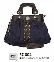 tas wanita bahan jeans murah