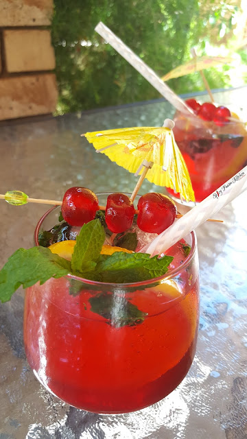 shirley temple, mocktail, recipe, shirley temple drink, shirley temple mocktail, food, food blog, food blogger, summer time, spicy fusion kitchen, non alcoholic drinks,
