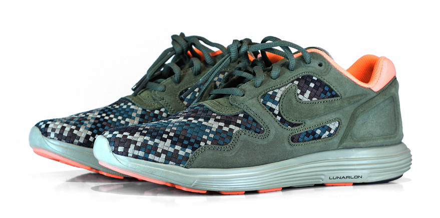 new product 432c0 743fc Nike keeps the woven releases coming through their Spring 2012 lineup. Here  comes an interesting new limited edition release from Nike – the Nike Lunar  Flow ...