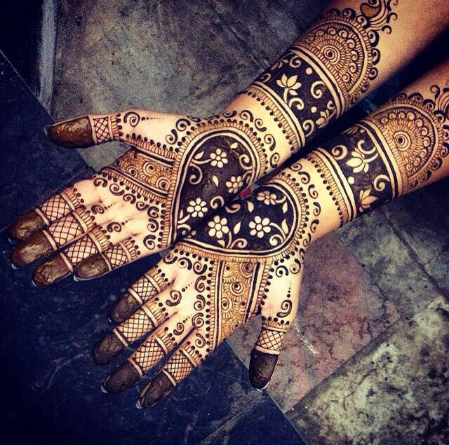 35 Gorgeous Bridal Mehndi Designs For Full Hands Dulhan Mehndi