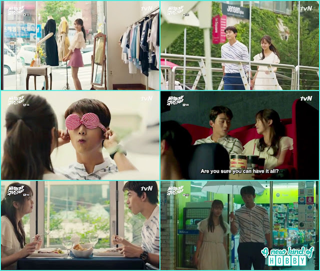 Bongpal and hyun ji first date - Let's Fight Ghost - Episode 9 Review - Korean Drama 2016