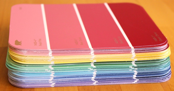 10 Fun Paint Chip DIY Projects