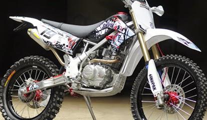 Brosur Daftar Harga Aksesoris Kawasaki KLX 150 Terbaru 2014