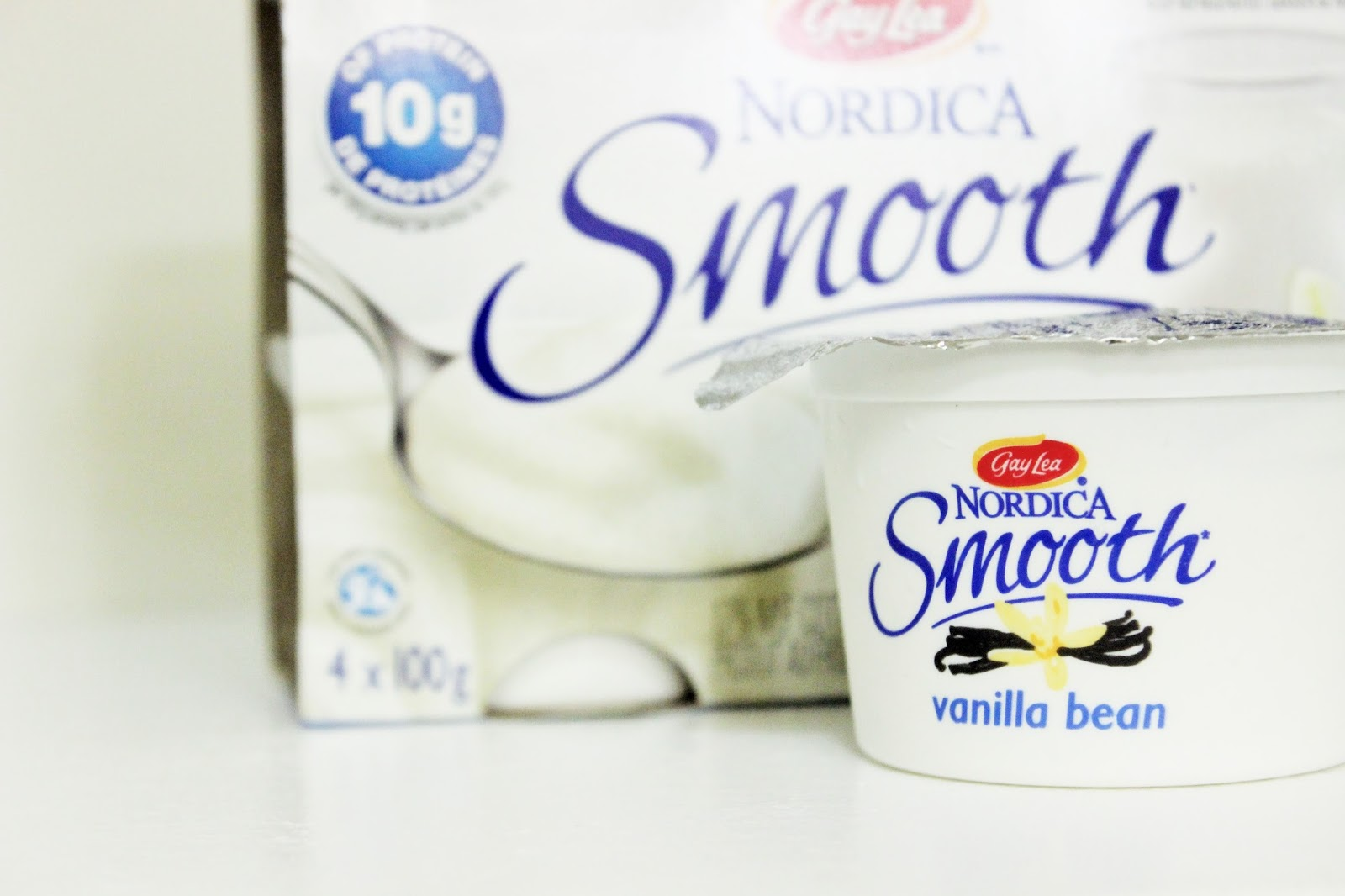 HEALTHY FALL TREAT: GAY LEA NORDICA SMOOTH COTTAGE CHEESE -  VANILLA BEAN