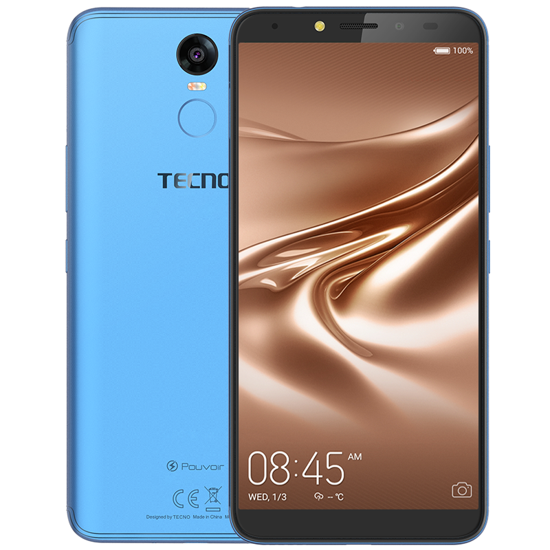 Tecno Pouvoir 2 comes with fingerprint sensor, see full specs and price