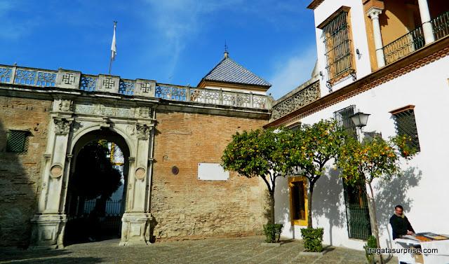 Entrada principal da Casa de Pilatos, Sevilha