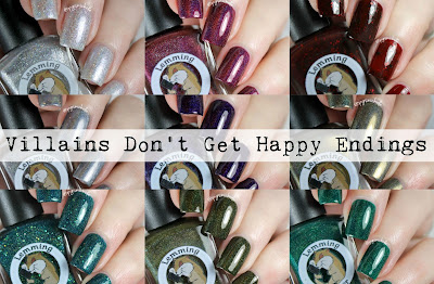 Lemming Lacquer Villians Don't Get Happy Endings Collection