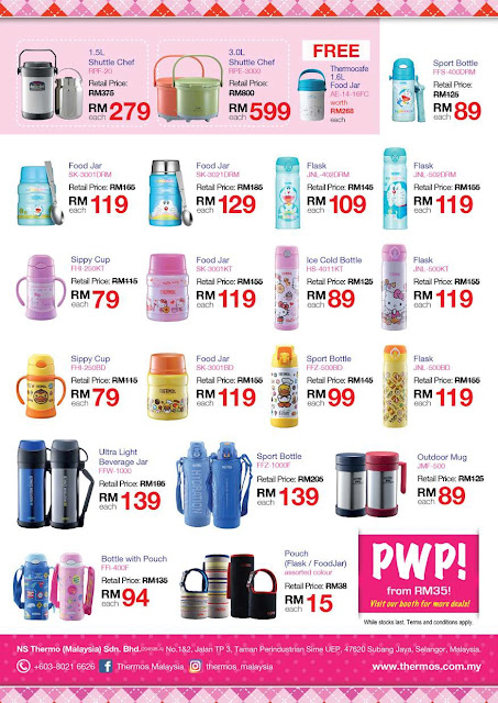 Thermos Discount Offer Catalog