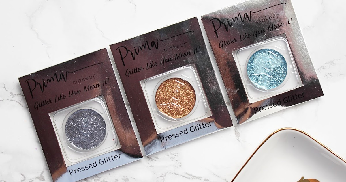 Prima Makeup Glitter Shadows Hannah Heartss
