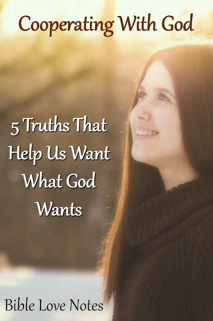 5 Ways to cooperate with God's purposes - Philippians 2:12-13